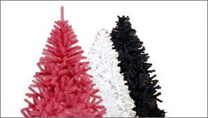 colour tree royal christmas