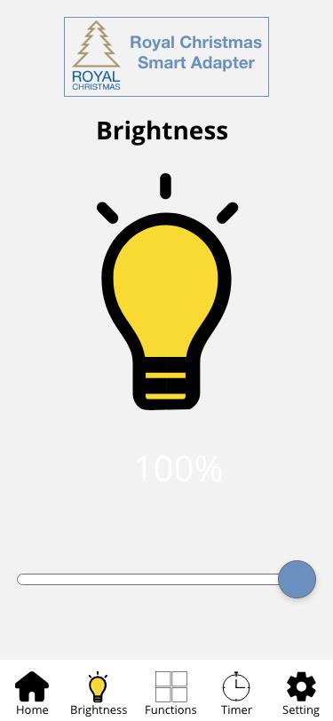 Brightness app