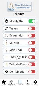 Modes in app