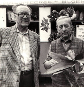 Herman en Derk Veldpape